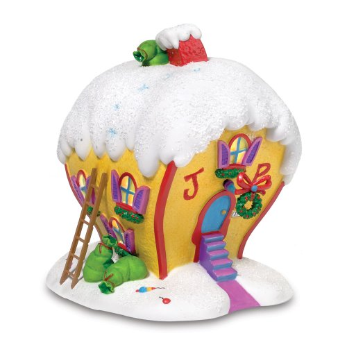 Department 56 Grinch Villages Cindy-Lou Who's House, 7.48-Inch (Whoville Characters)