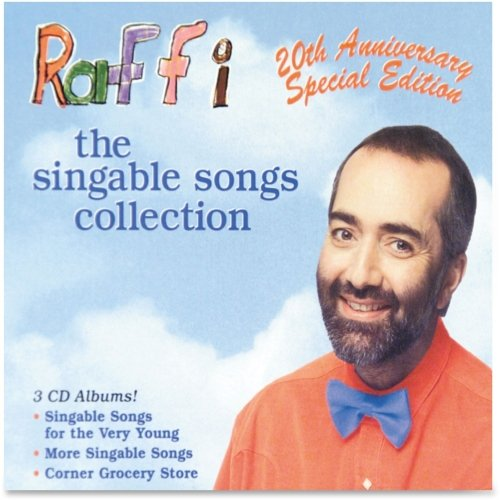 Flipside Products Raffi The Singable Songs Collection, 3 Disc, Ast