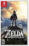 Video Games : The Legend of Zelda: Breath of the Wild - Nintendo Switch