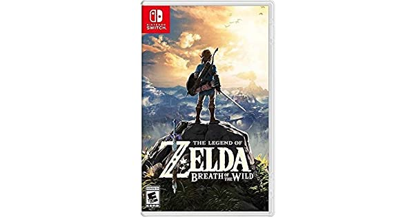Amazon com: The Legend of Zelda: Breath of the Wild - Nintendo