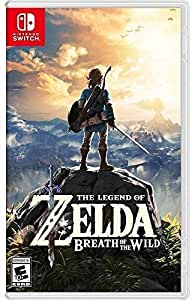 The Legend of Zelda Breath of the Wild Nintendo Switch Video Game (Nintendo Switch)