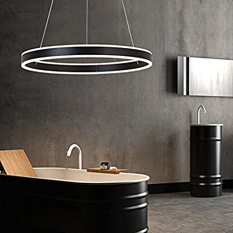 LightInTheBox - moderna Lámparas de araña LED Anillo Colgante ...
