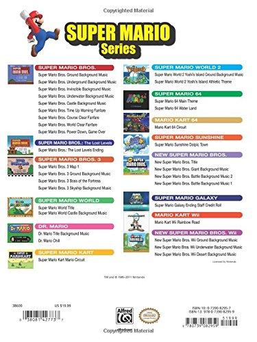 Super Mario Series for Piano: Intermediate/Advanced Piano