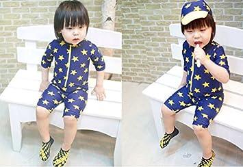 350f32cf92fa4 medy (メディー) 大人気 可愛い 赤ちゃん 服 子供 服 水着 帽子付き 2点セット