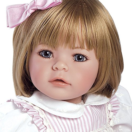 """511M7ME%2BieL - Adora Toddler Pin-A-Four Seasons 20"""" Girl Weighted Doll Gift Set for Children 6+ Huggable Vinyl Cuddly Snuggle Soft Body Toy"""