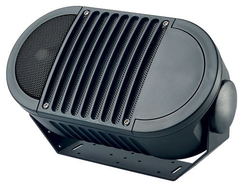 (Bogen Weatherproof Indoor/Outdoor Speakers, Features Metal-alloy MDT Mid/Bass Speaker Cone for Superior Sound, Gold-plated, Rust-Proof Connectors, High Efficiency and Power Handling for Optimum Performance, Multi-Faced Mounting Brackets with 180° Swivel, Corrosion-Resistant Driver Frames & Mounting Hardware)