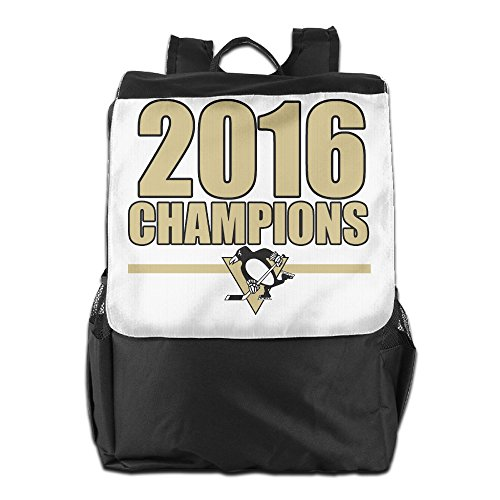 YUVIA 2016 Pittsburgh Hockey Team Men's&Women's Sports Hiking Outdoor Students School Gym Workout Travel Journey Business Trip Travelling Bag