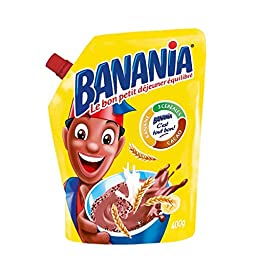Banania Chocolate Breakfast Mix Imported From France 14.1oz Case of 6 Units - Wholesale