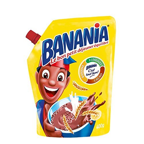 Banania Chocolate Breakfast Mix Imported From France 14.1oz Case of 12 Units - Wholesale by Banania