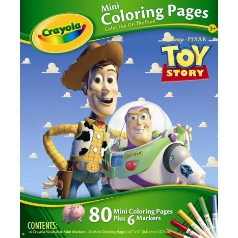 Toy Story Coloring Pages (Crayola Mini Coloring Pages - Disney Pixar Toy)