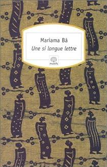 Une si longue lettre, Mariama Bâ