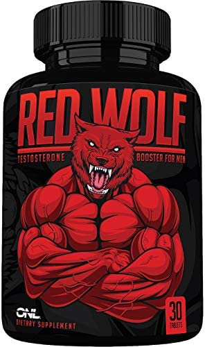 Red Wolf – Testosterone Booster for Men – Ultimate Mens Supplement – Osyris Nutrition Lab – 1 Month Supply – Made in USA