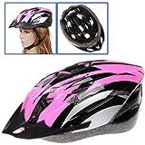 SODIAL(R) Casco de Carbono para Bicicleta con Visera para Adulto Circunferencia de Cabeza 54-65cm/ Ancho de Cabeza Bajo 16cm