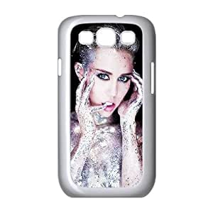 Qxhu Miley Cyrus patterns Hard Plastic Cover Case for Samsung Galaxy S3 I9300