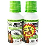 Liquid-Vet Equine Hip & Joint Support Formula, Peppermint Flavor, 8 oz BOGO Trial Pack