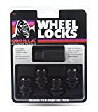 Gorilla Automotive 73631TBC Locking Lug Nuts & 1 Key for Toyota/Lexus Aluminum Wheels - Set of 4