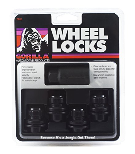 Gorilla Automotive 73631TBC Locking Lug Nuts & 1 Key for Toyota/Lexus Aluminum Wheels - Set of 4