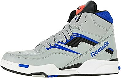 Encogerse de hombros Traducción Examinar detenidamente  Amazon.com | Reebok Mens Twilight Zone Pump Basketball Shoe,  White/Black-lime, | Fashion Sneakers