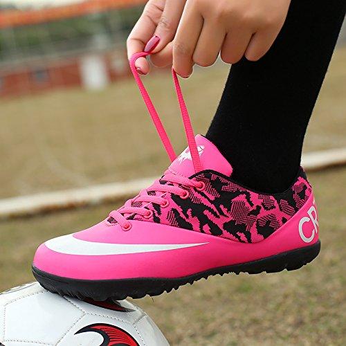 Xing Lin Chaussures De Football New GirlS Chaussures De Football Broken Nails Gazon Artificiel De LAntidérapage Porter Petite Cour Pour LÉlève La Formation Des Chaussures, 43 Standard Code 26.5Cm,