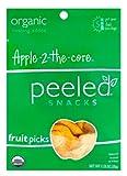 Peeled Fruit Picks - Apple 2 the Core - 1.23 oz - Case of 10