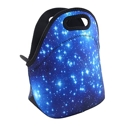 Lunch Bags Insulated for Women Men Adult Neoprene Cute Tote Waterproof Thermal Reusable Durable Boxes for Work Office Picnic Travel Mom Bag