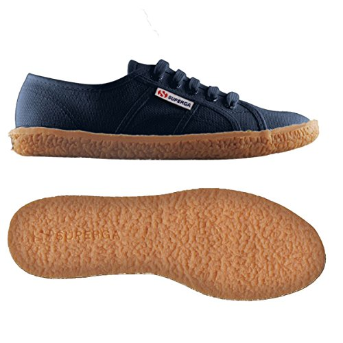 Superga 2750 Donna NAVY Cotu Sneakers Low da Naked Top SSfpaFrO