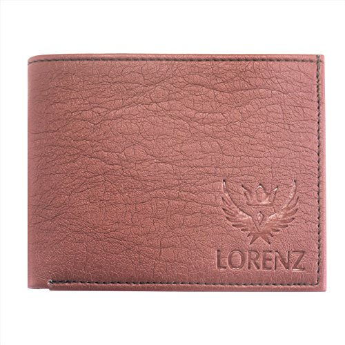 LORENZ Brown Watch and Wallet Combo for Men 5