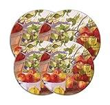 apple stove burner - Range Kleen Decorative Burner Cover For Electric Range 10-1/4 In., 8-1/4 In. 4/Set