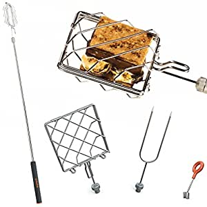 """Grubstick Intro 4 Piece Kit- Your Last Roasting Stick 