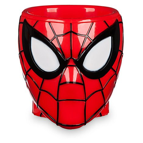 Spider-Man Plastic Cup for Kids with Rope Handle BPA free