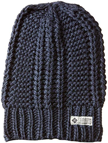 7a3ccfa59 Columbia Women's Hideaway Haven Slouchy Beanie, Nocturnal, One Size