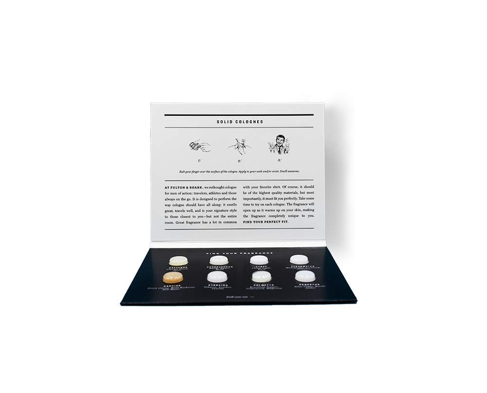 Fulton & Roark Solid Cologne Sample Pack by Fulton & Roark