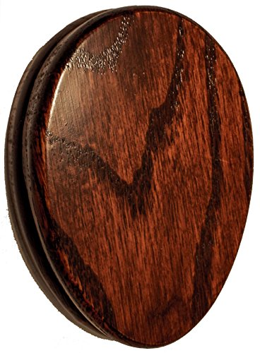 Towel Marble Holder Set of Two Michaels Cherry Stain Oak Hardwood Amish ()