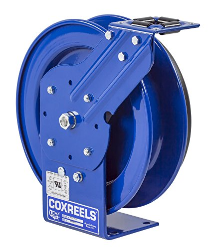 Rewind Spring Reel (Coxreels PC13L-5016 Power Cord Spring Rewind Reels: 16 AWG, 50' Less Cord & Accessory)