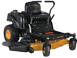 Poulan Pro 967331001 P54ZX Briggs V-Twin Pro 24 HP Cutting Deck Zero Turn Radius Riding Mower, 54-Inch
