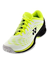 Yonex Power Cushion Fusion Rev 2 Men's Tennis Shoes - White/yellow