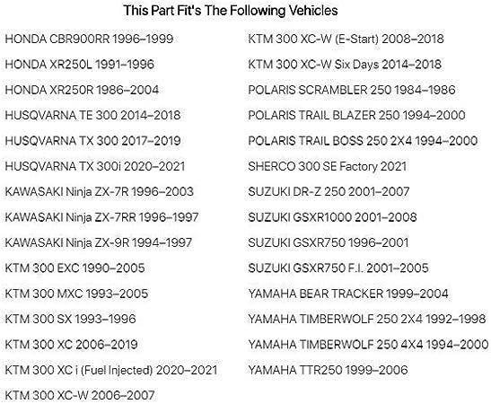 Flex-Hone Cylinder Ball-Hone 52-54mm for Yamaha YZ125 1994-2018
