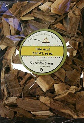 Premium Palo Azul Kidney Wood Detox Blue Stick 1 Lb, Teatox -Bulk by Sweet Pea Spice (Image #2)