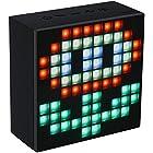 Divoom Aurabox Bluetooth 4.0 Smart LED Speaker with APP Control for Pixel Art Creation (Black)