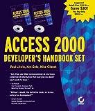 Access 2000 Developer's Handbook Set, Paul Litwin and Ken Getz, 0782123716
