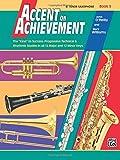 Accent on Achievement, Bk 3: B-flat Tenor Saxophone