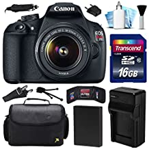 Canon EOS Rebel T5 1200D DSLR Digital Camera w/ 18-55mm Lens (16GB Value Bundle)