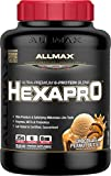 ALLMAX Nutrition Hexapro Protein Blend, Peanut Butter Chocolate, 5.5 lbs