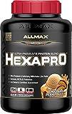 ALLMAX Nutrition Hexapro Ultra-Premium Protein Blend, Peanut Butter Chocolate, 5.5 lbs