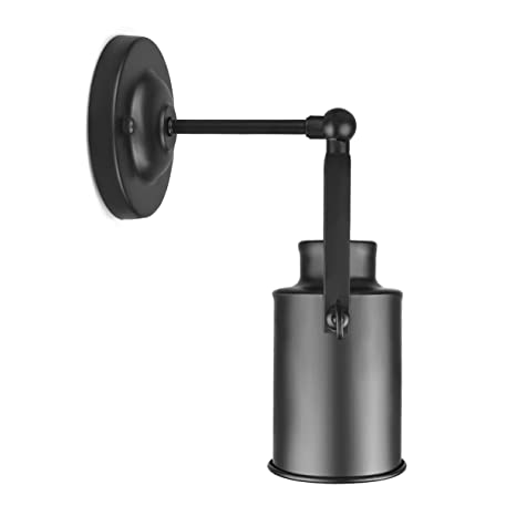 Amazon industrial vintage wall sconce light fixture wall mount industrial vintage wall sconce light fixture wall mount lighting oil rubbed bronze finished mozeypictures Images