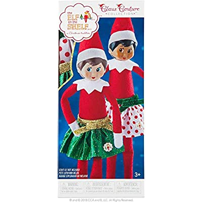 The Elf on the Shelf Party Pair Skirt Set - Includes 2 Skirts - Ages 3 and Up: Toys & Games