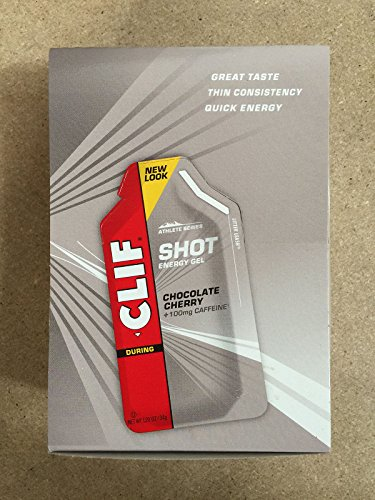 Clif Shot Gel Cherry Chocolate, 24 - 1.2 oz packets, 28.8 ozs.