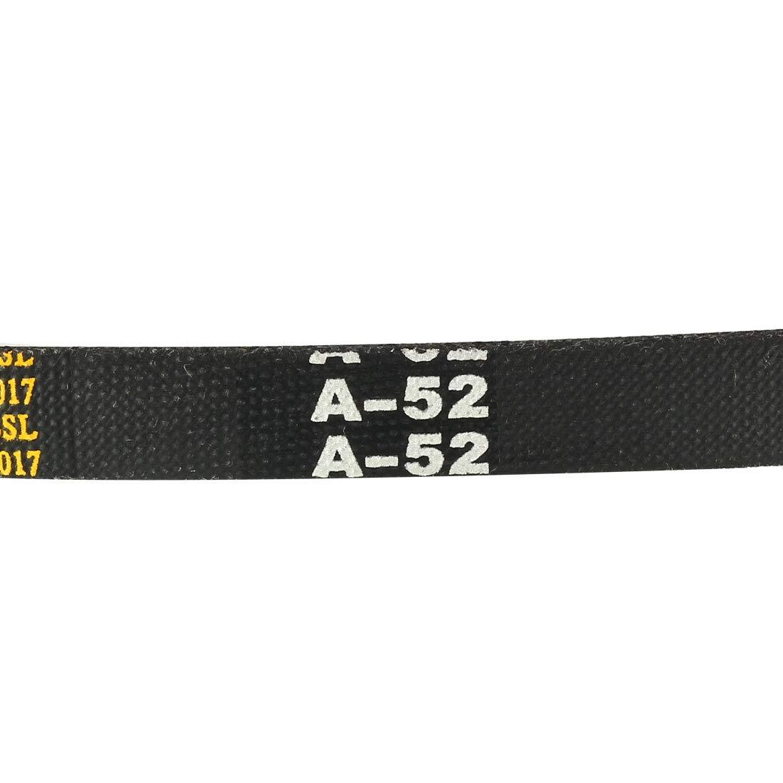 uxcell A-47 Drive V-Belt Girth 47-inch Industrial Power Rubber Transmission Belt