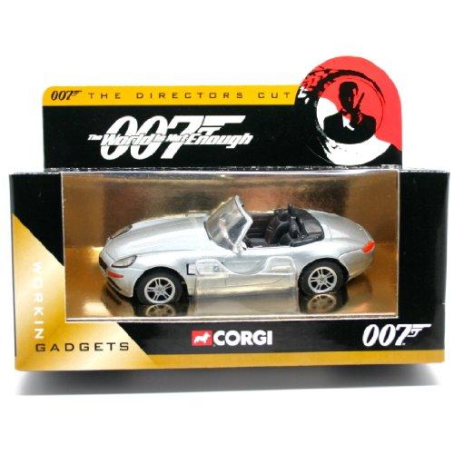 BMW Z8 ロードスター(シルバー) 「007 ワールド・イズ・ノット・イナフ」 007 THE DIRECTORS CUT CC05004