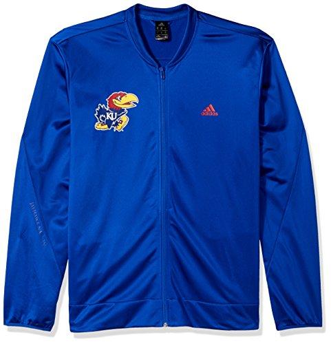 Adidas Jayhawks Kansas Shorts (adidas NCAA Kansas Jayhawks Mens On Court Warm-Up Jacketon Court Warm-Up Jacket, Collegiate Royal, XX-Large)